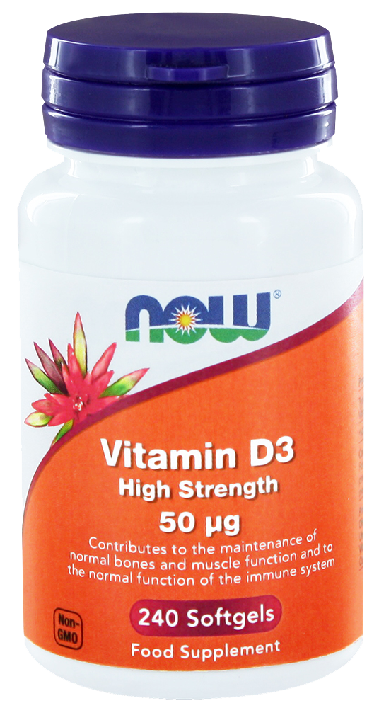 Vitamin D3 high strength 50ug